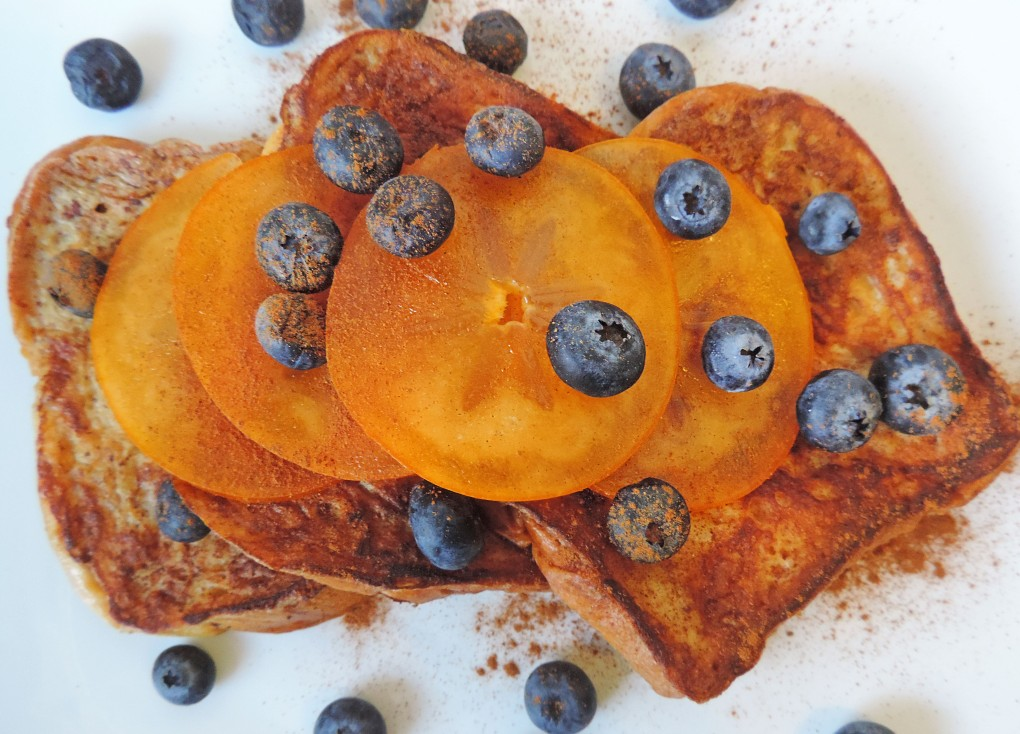Persimmons Blueberry french toast 4