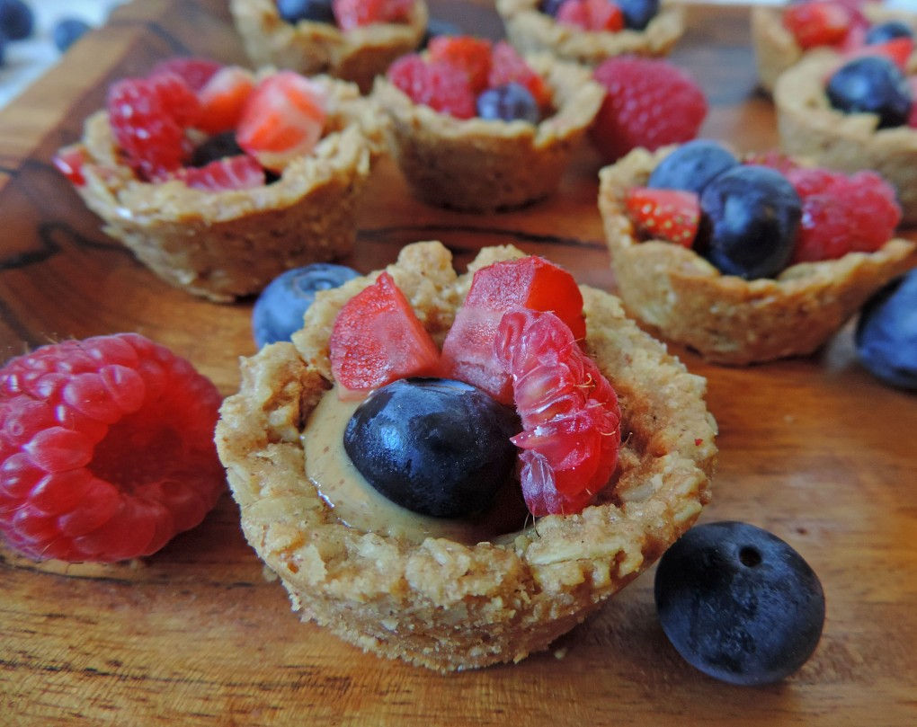 PB oat fruit snack cups