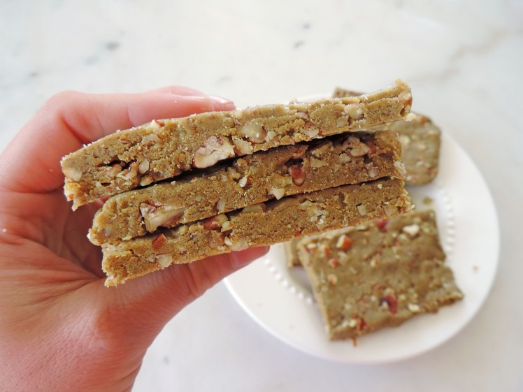 Spin and Spice Maple Pecan Protein Bars 2