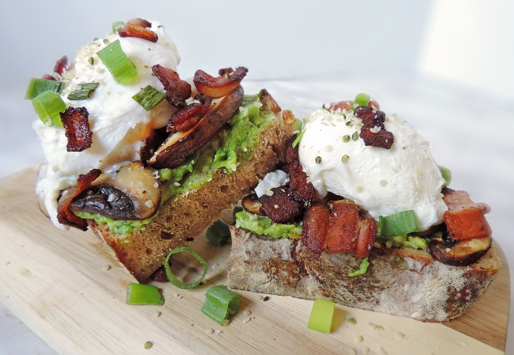 Loaded Avocado Toast